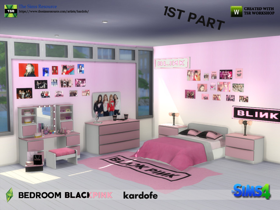 Kardofe Bedroom Blackpink 1st Part