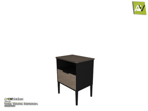 Sims 3 — York End Table by ArtVitalex — - York End Table - ArtVitalex@TSR, Jan 2021