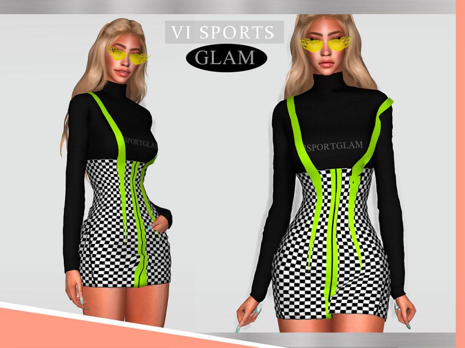 Viy Sims Rock Chic VI - Dress CLOVER