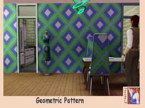 Sims 3 — ws Pattern Geometric Mix by watersim44 — Selfmade created pattern, for your Sims. Created by watersim44