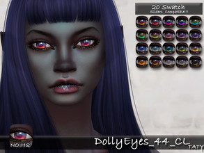 Sims 4 — [Ts4]Taty_DollyEyes_44_CL by tatygagg — - Female, Male - Human, Alien - Toddler to Elder - Hq Compatible -