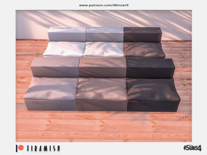 Sims 4 — Tiramisu - Armless chair Patreon by Winner9 — Armless chair from my Tiramisu set, you can find it easy in your