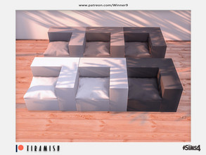 Sims 4 — Tiramisu - Corner chair right Patreon by Winner9 — Corner chair right from my Tiramisu set, you can find it easy