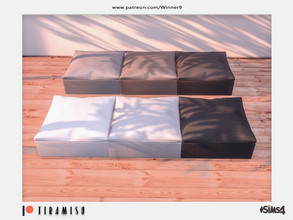 Sims 4 — Tiramisu - Ottoman Patreon by Winner9 — Ottoman from my Tiramisu set, you can find it easy in your game by