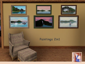 Sims 3 — ws Impression Nature 2x1 by watersim44 — Impression Nature 2x1 Beautiful impression nature - sea, mountains,