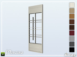Sims 4 — Macau Wallpanel Sitang Left by Mutske — This wallpanel is part of the Macau Contructionset. Made by Mutske@TSR.