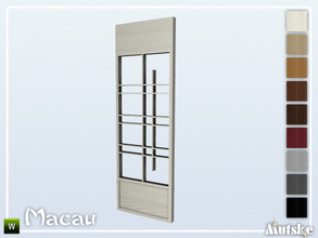 Sims 4 — Macau Wallpanel Sitang Right by Mutske — This wallpanel is part of the Macau Contructionset. Made by Mutske@TSR.