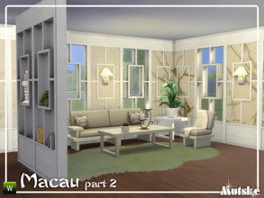 Sims 4 — Macau Construction Part 2 by Mutske — These type of windows, roomdividers and wallpanels are based on oriental