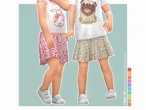 Sims 4 — Sissi Skirt by lillka — Sissi Skirt for Toddler Girls 10 swatches Custom thumbnail YOU NEED the Toddler Stuff