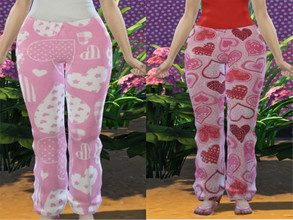 Sims 4 — VDAY pants by BeABarbie — BGC 2 options
