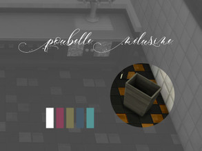 Sims 4 — Poubelle Melusine by Arthermyst — The witch Melusine's exculive's kitchen ! Yes, you read right, she did use it