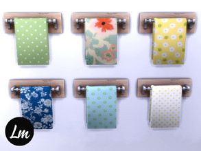 Sims 4 — Fiona towel rack by Lucy_Muni — Towel rack in 6 swatches Sims 4 base game retexture