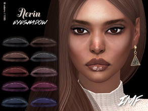 Sims 4 — IMF Aerin Eyeshadow N.185 by IzzieMcFire — Aerin Eyeshadow N.185 contains 10 colors in hq texture. Standalone