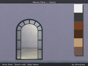 Sims 4 — Darma Arch by Mincsims — for Short wall 6 swatches