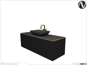 Sims 4 — Akron Sink by ArtVitalex — Bathroom Collection | All rights reserved | Belong to 2021 ArtVitalex@TSR - Custom