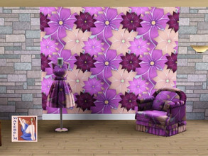 Sims 3 — ws Flower Hibiscus by watersim44 — Selfmade created a Pattern FlowerHibiscus for your Sims. Creation by