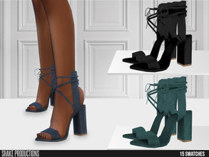Sims 4 — ShakeProductions 630 - High Heels by ShakeProductions — Shoes/High Heels New Mesh All LODs Handpainted 15 Colors
