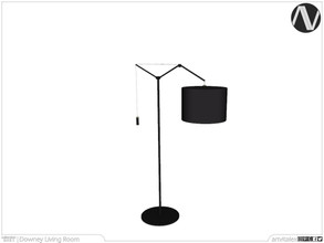 Sims 3 — Downey Floor Lamp by ArtVitalex — Living Room Collection | All rights reserved | Belong to 2021 ArtVitalex@TSR -