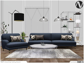 Sims 3 — Downey Living Room by ArtVitalex — Living Room Collection | All rights reserved | Belong to 2021 ArtVitalex@TSR