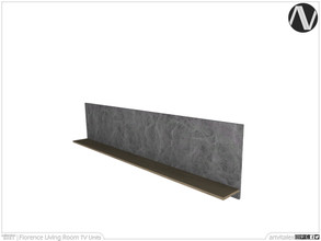 Sims 3 — Florence Wall Shelf by ArtVitalex — Living Room Collection | All rights reserved | Belong to 2021 ArtVitalex@TSR