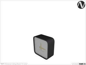 Sims 3 — Florence Desk Clock by ArtVitalex — Living Room Collection | All rights reserved | Belong to 2021 ArtVitalex@TSR