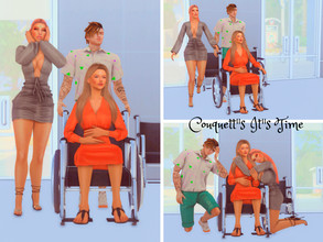 "Sims 4 — Couquett""s It""s Time PosePack by couquett — it""s Time for receive the new member of your family"