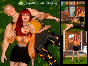 Sims 4 — Couquetts Surprise PosePack by couquett — Beautiful poses for your couple and daugther, sons sims, I hope you