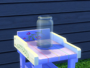 Sims 4 — Up The Garden Path Jar by seimar8 — Garden Jar. Part of Up The Garden Path set. University Expansion Pack