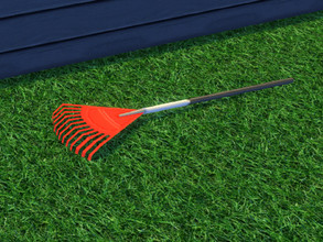 Sims 4 — Up The Garden Path Garden Rake by seimar8 — Garden Rake. Part of Up The Garden Path set. Season Expansion Pack