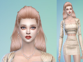 Sims 4 — Elysia by kimmeehee — No sliders have been used Go to the tab Required to download the CC needed.