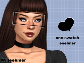 Sims 4 — Smoked Out Liner by Willeekmer — BGC 1 swatch Teen - Elder Male - Female Custom thumbnail Disallowed for randoms