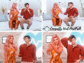 Sims 4 — Couquetts Wait PosePack by couquett — Hi guys There are somes poses for use with your sims How to used? there