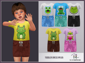 Sims 4 — Toddler Boy Collection RPL85 by RobertaPLobo — :: 5 swatches :: All lods :: Sub Part Type: Suits :: For Toddler