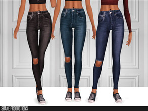 Sims 3 — ShakeProductions-S3-119 by ShakeProductions — Jeans Recolorable