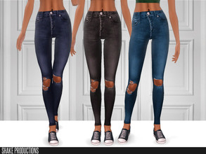Sims 3 — ShakeProductions-S3-120 by ShakeProductions — Jeans Recolorable
