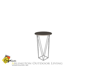 Sims 4 — Arlington End Table by Onyxium — Onyxium@TSR Design Workshop Outdoor And Garden Collection | Belong To The 2021