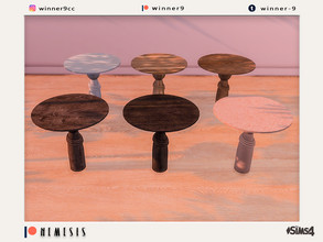 Sims 4 — Nemesis Dining table Patreon by Winner9 — Dining table from my Nemesis set, you can find it easy in your game by