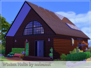 Sims 4 — Winton Holte by nolcanol — Winton Holte is a spacious home, a bit in the loft style. Perfect for a couple or