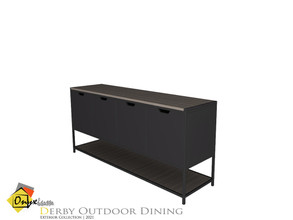 Sims 4 — Derby Console Table by Onyxium — Onyxium@TSR Design Workshop Outdoor And Garden Collection | Belong To The 2021