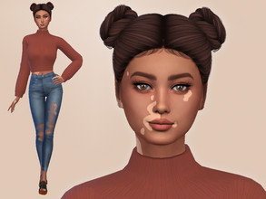 Sims 4 — Elyse Wilsey by Mini_Simmer — Download the CC from the required section. Don't claim or re-upload this creation