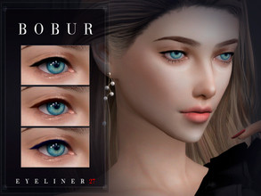 Sims 4 — Bobur Eyeliner 27 by Bobur2 — Eyeliners for female 6 colors HQ I hope you like it