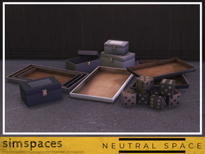 Sims 4 — Neutral Space Fillers by simspaces — Been looking for some things to help fill out your spaces? These are those