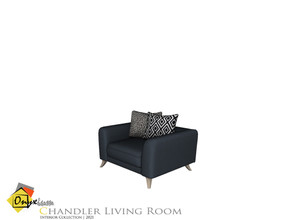 Sims 4 — Chandler Sofa Single by Onyxium — Onyxium@TSR Design Workshop Living Room Collection | Belong To The 2021 Year