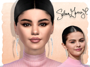 Sims 4 — Selena Gomez by Jolea — This is my Celebrity inspired Selena Gomez, hope you'll like it. If you want the Sim to
