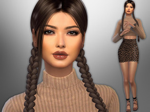 Sims 4 — Hailee Ashton by divaka45 — Go to the tab Required to download the CC needed. DOWNLOAD EVERYTHING IF YOU WANT