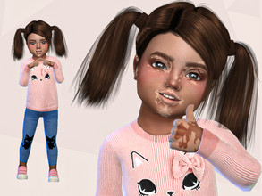 Sims 4 — Arlene Wiley by Mini_Simmer — Download the CC from the required section. Don't claim or re-upload this creation