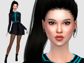 Sims 4 — Saori Hayashi by DarkWave14 — Download all CC's listed in the Required Tab to have the sim like in the pictures.