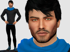 Sims 4 — Lawrence Green by DarkWave14 — Download all CC's listed in the Required Tab to have the sim like in the