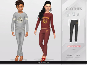 Sims 4 — ReMaron_C_HarryPotterPants01 by remaron — -06 Swatches available -Child Category -Custom CAS thumbnail -Base