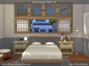 Sims 4 — HanYang Part-03 by Mincsims — This set is the last part of HanYang Windows and Doors Set. This set is a kind of